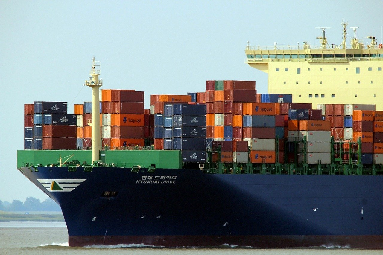 container, ship, container ship